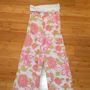 Lilly Pulitzer Pants - Lilly Pulitzer wide leg lounge pants flower print